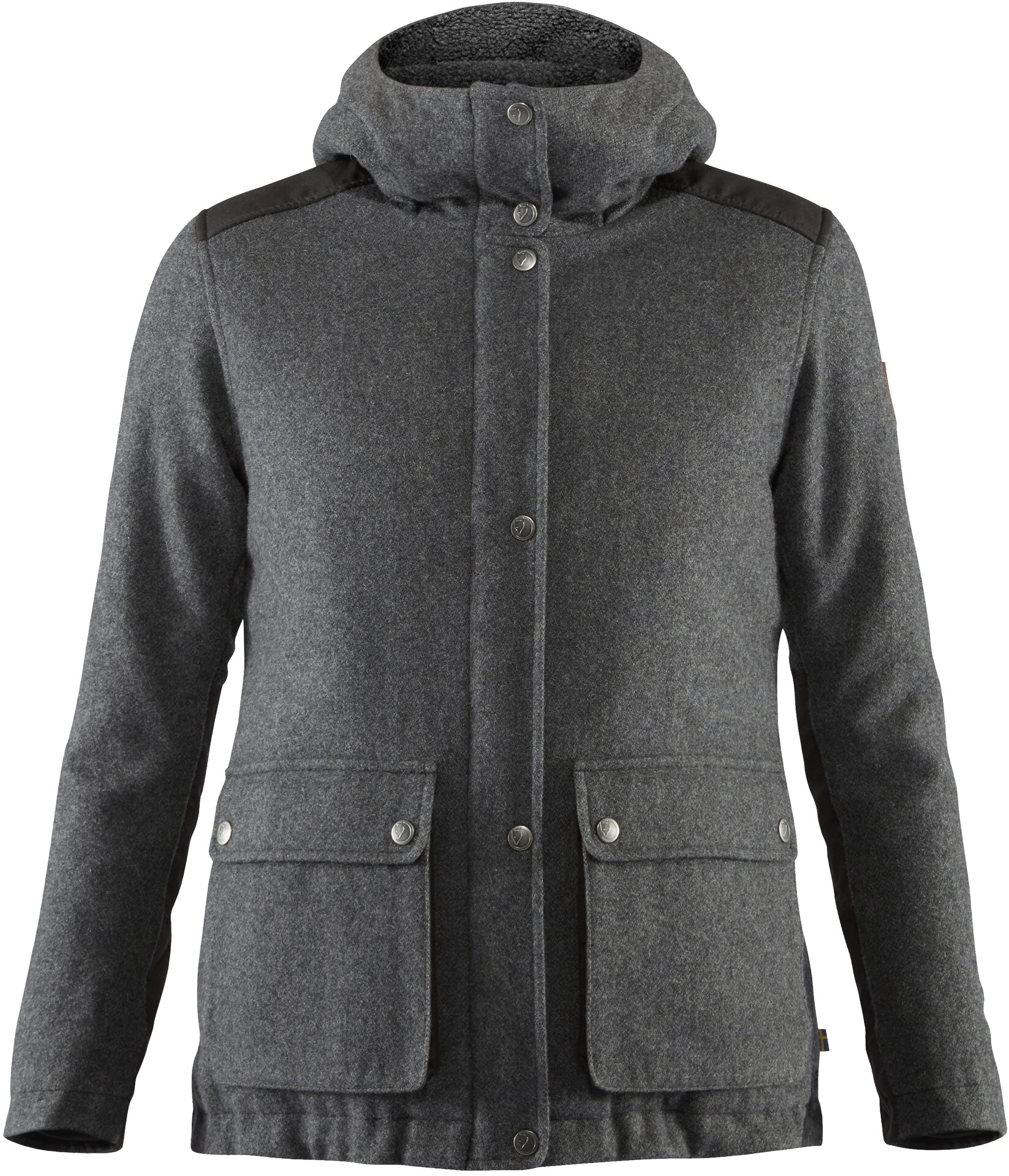 Fjällräven Greenland Re Wool Jacke Damen grey